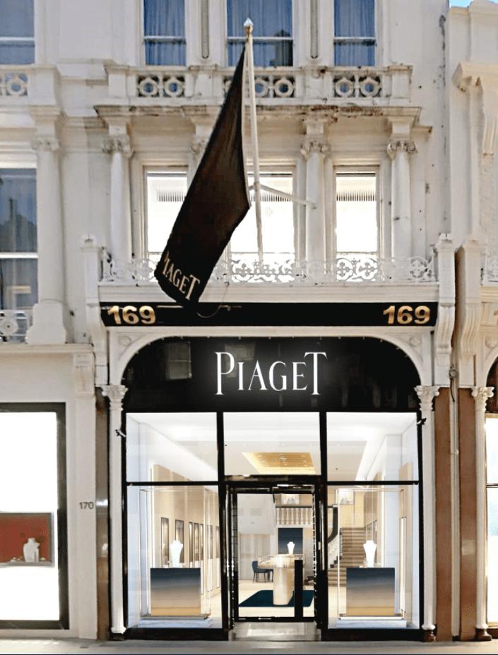 contract interior design piaget london