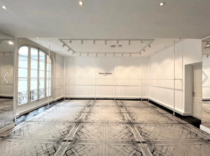contract interior design maison margiela paris